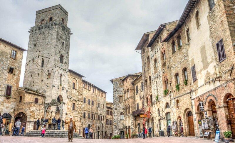 Innenstadt von San Gimignano