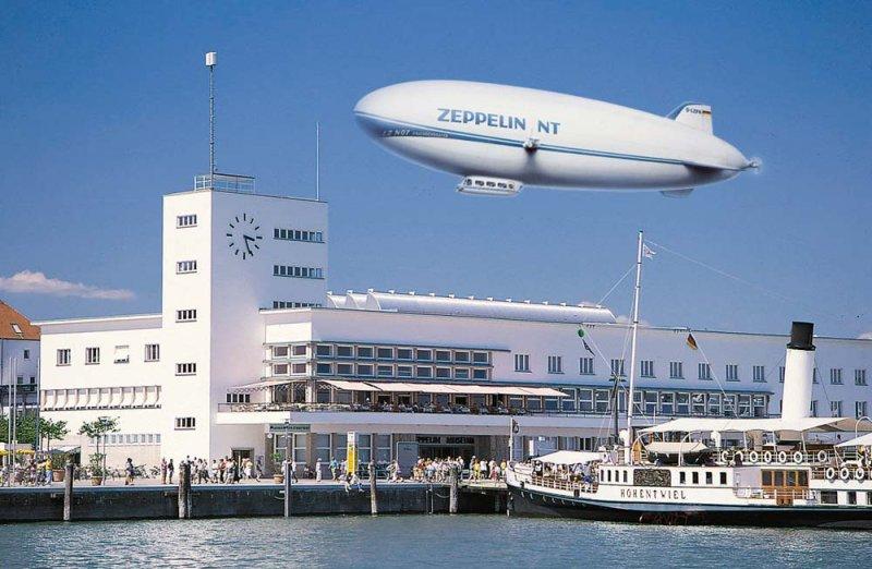 Zeppelin in Friedrichshafen