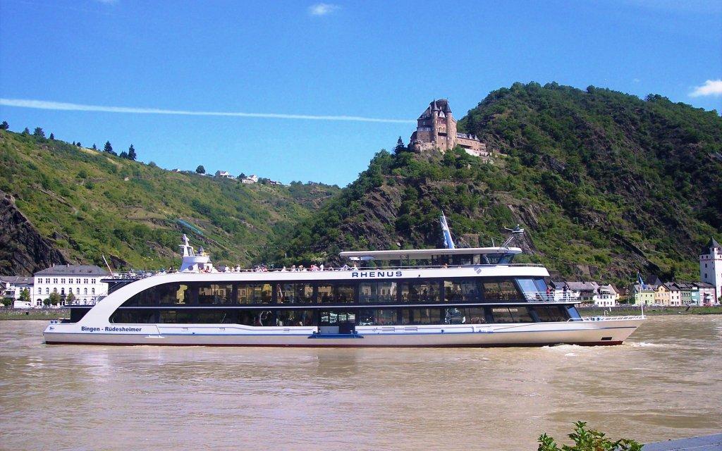 Schifffahrt im Rheingau