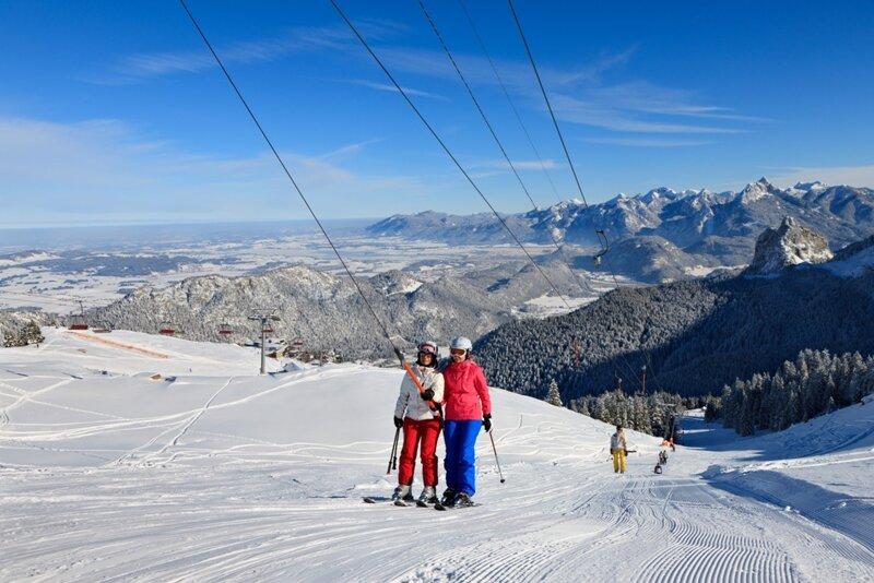 Skigebiet Hochalp