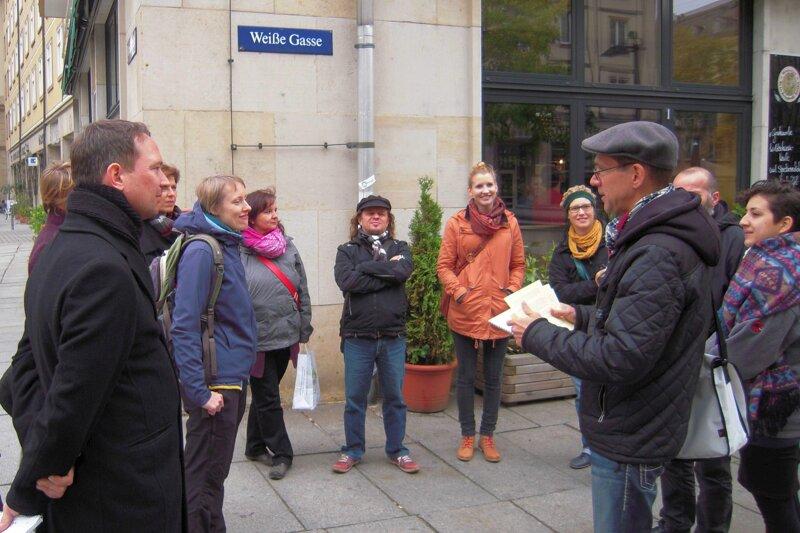 Eat the world tour im Kneipenviertel Dresden