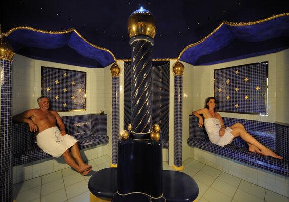 Bad Füssing Therme Saunawelt OsmanischerBadetempel 2010