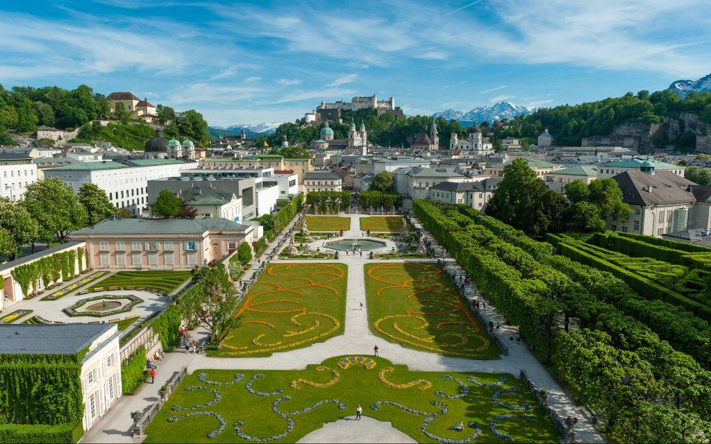 Salzburg Mirabellengarten