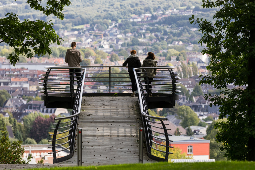 Aussicht auf Wuppertal