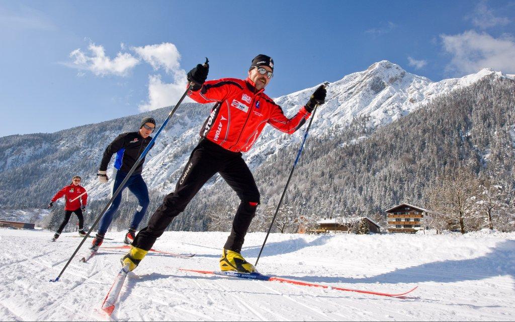 Langläufer im Österreich