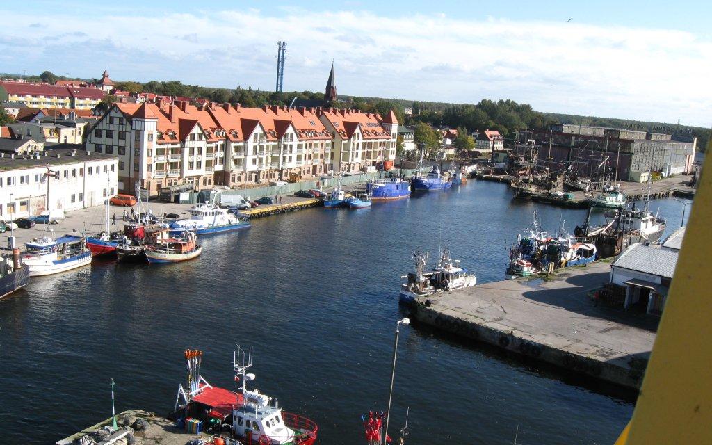 Hafen von Stolpemünde