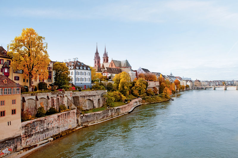 Grossbasler Rheinufer