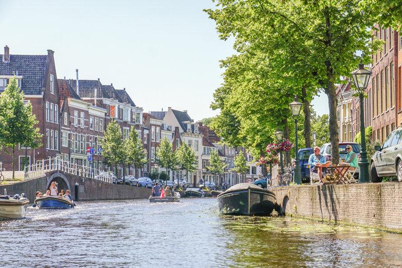 Stadt Leiden in Südholland