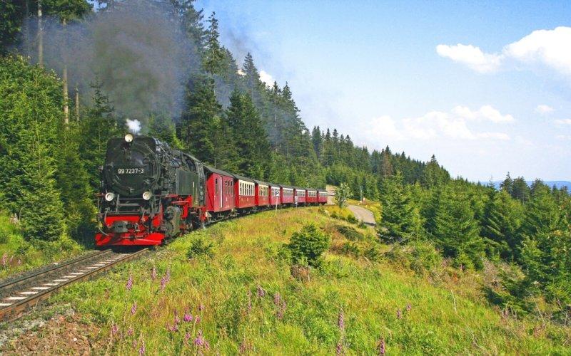 Brockenbahn der Harzer Schmalspurbahnen