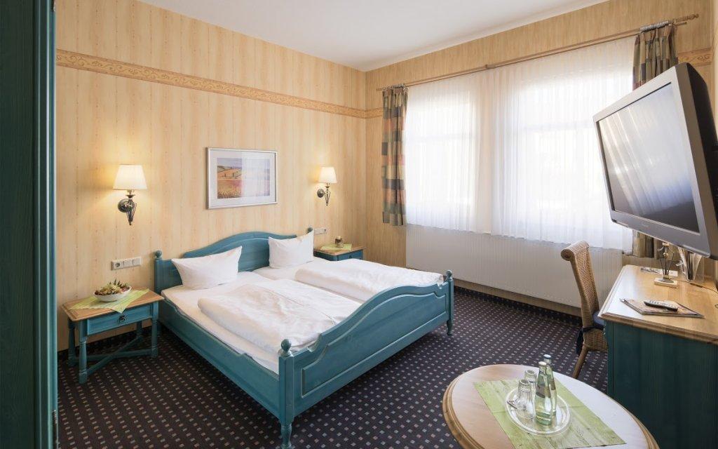 Mühlhäuser Brauhaus Zum Löwen Zimmer Doppelzimmer