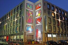 Hotel Axotel Lyon Perrache Facade5