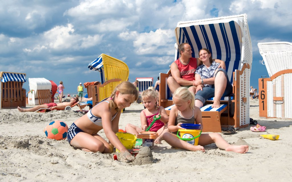 Familie polnische Ostsee