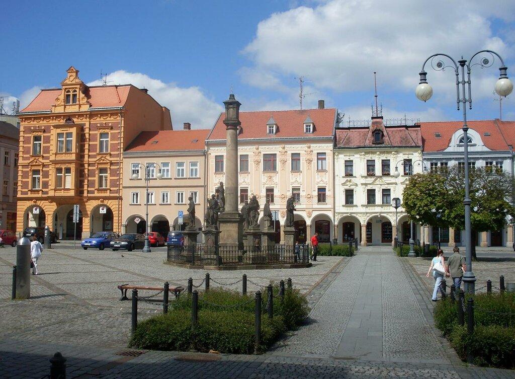 Altstadt von Rumburk