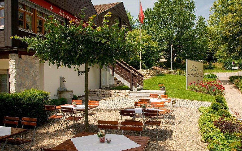 Bad Säckingen Thermenhotel Schweizerblick aussen Außenansicht
