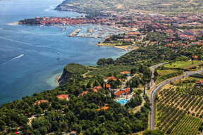 Izola Panorama c Hotel Belvedere