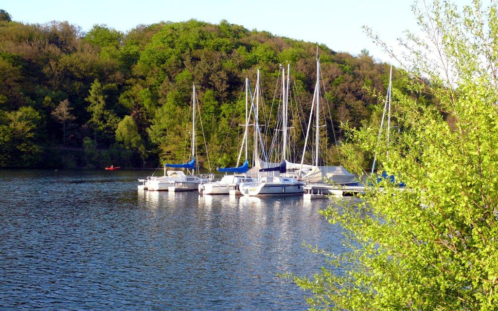 Segelboote Diemelsee