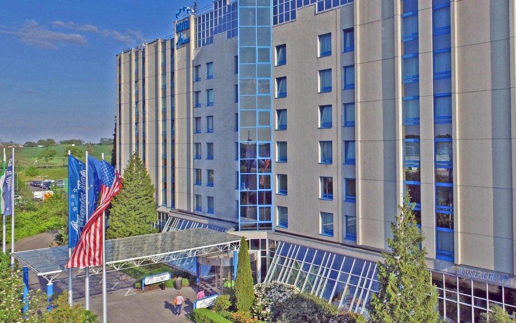 Atlanta Hotel International Leipzig Außenansicht