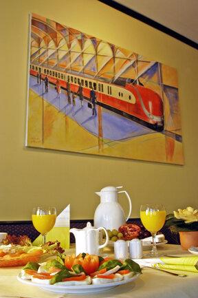 Frühstücksbuffet 1