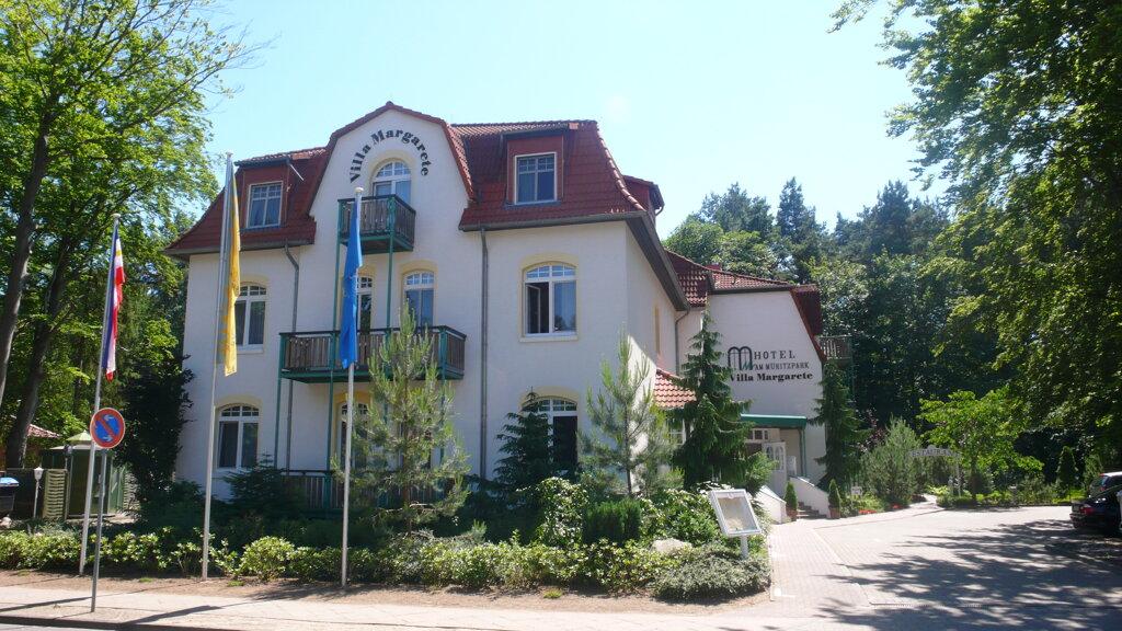 Waren (Müritz) Ringhotel Villa Margarete Außenansicht