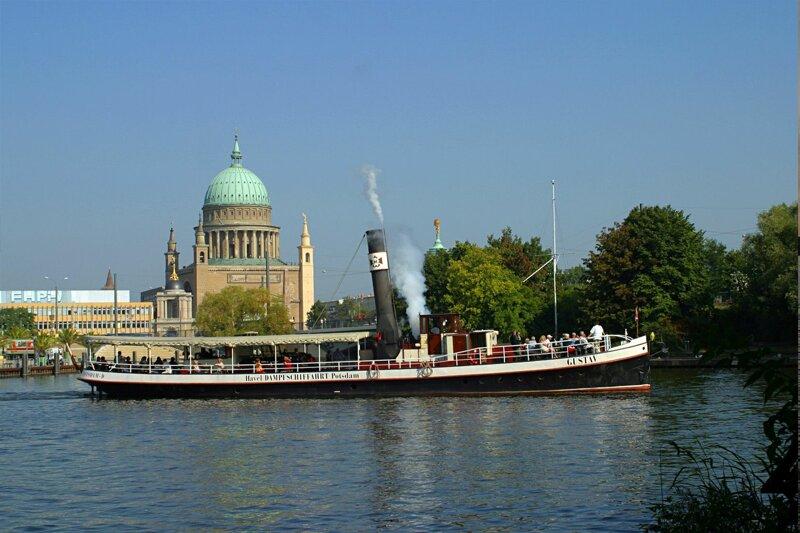 Dampfschiff Gustav von der Weissen Flotte Potsdam