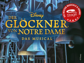 Logo Glöckner von Notre Dame Siegel  © Stage Entertainment
