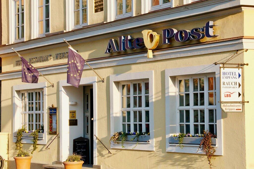 Mindelheim Hotel Alte Post Eingansbereich