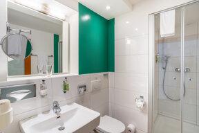 Standard Einzelzimmer Bad