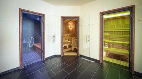 Außenbereich Sauna