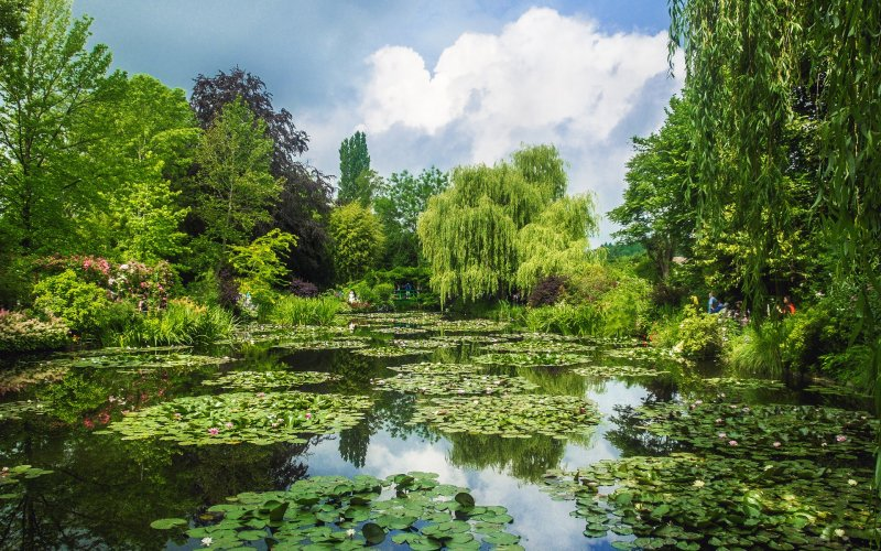 Fondation Claude Monet in Giverny in der Normandie