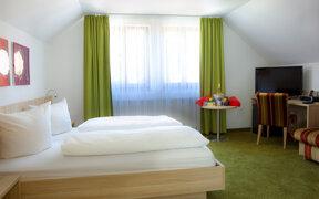 Komfort-Zimmer grün