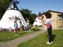 Holland-Wigwam mit Riesen-Freizeitspaß