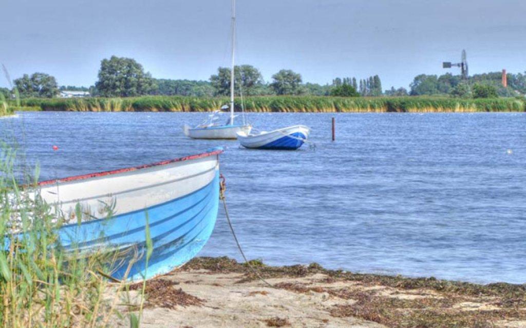 Boot bei Middelhagen auf Rügen