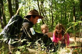 Ranger Kinder©Nationalpark Eifel.de, G. Priske