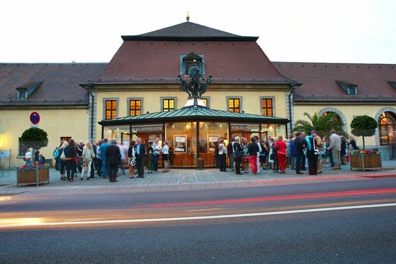 Schlosstheater in Fulda von außen