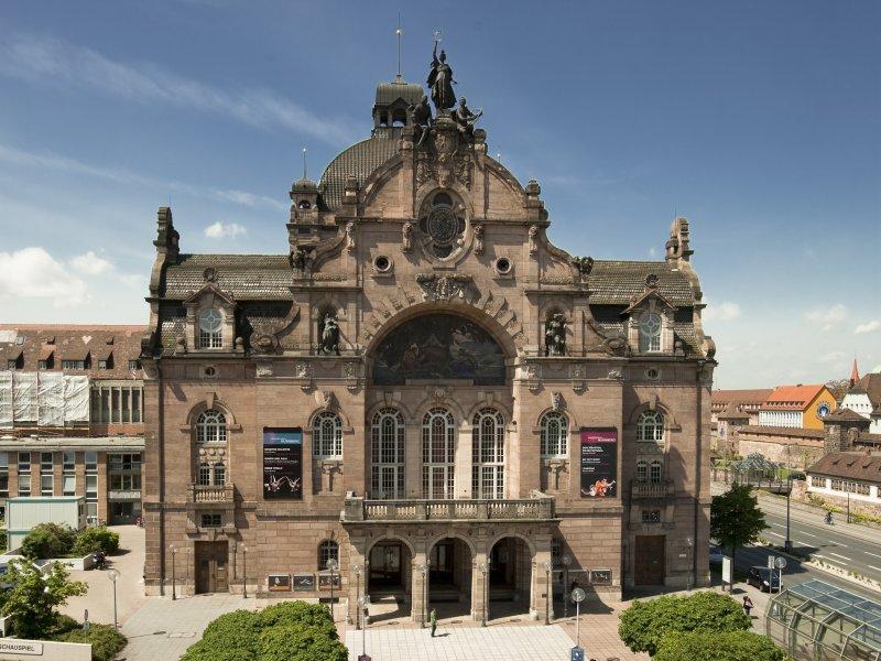 Staatstheater Nürnberg von oben