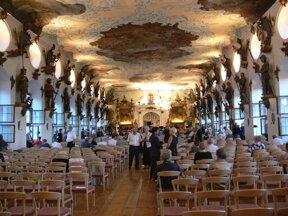 Schloss Wolfegg, Rittersaal bei Konzert, ohne c wikimedia