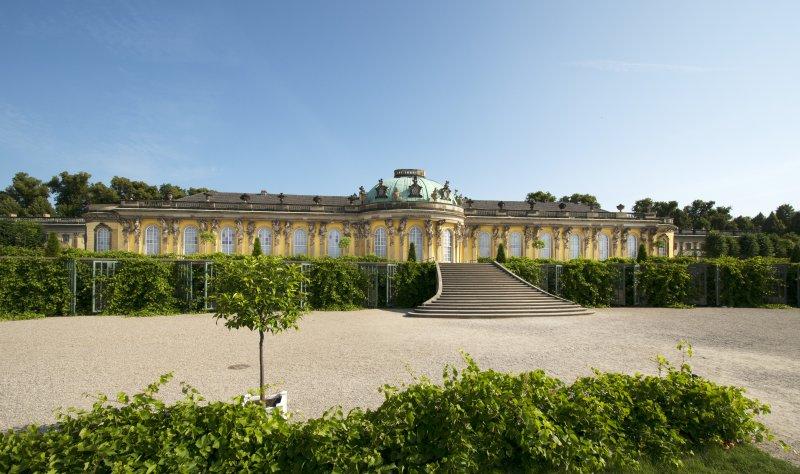 Schloss Sanssouci Außenansicht