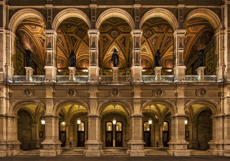Eingangsbereich Wiener Staatsoper