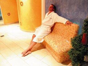 entspannter Mann
