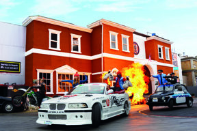 Crazy Cops New York - The Action Stunt Show 2016©Movie Park Germany