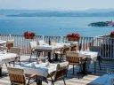 Schöne Aussichten hoch über der Adria