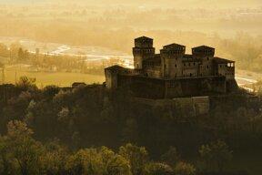 Schloss in der Emilia-Romagna