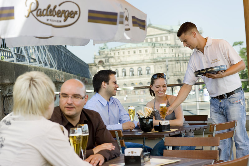 Biergarten Radeberger Bierbrauerei