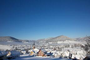 Ortsansicht Winter