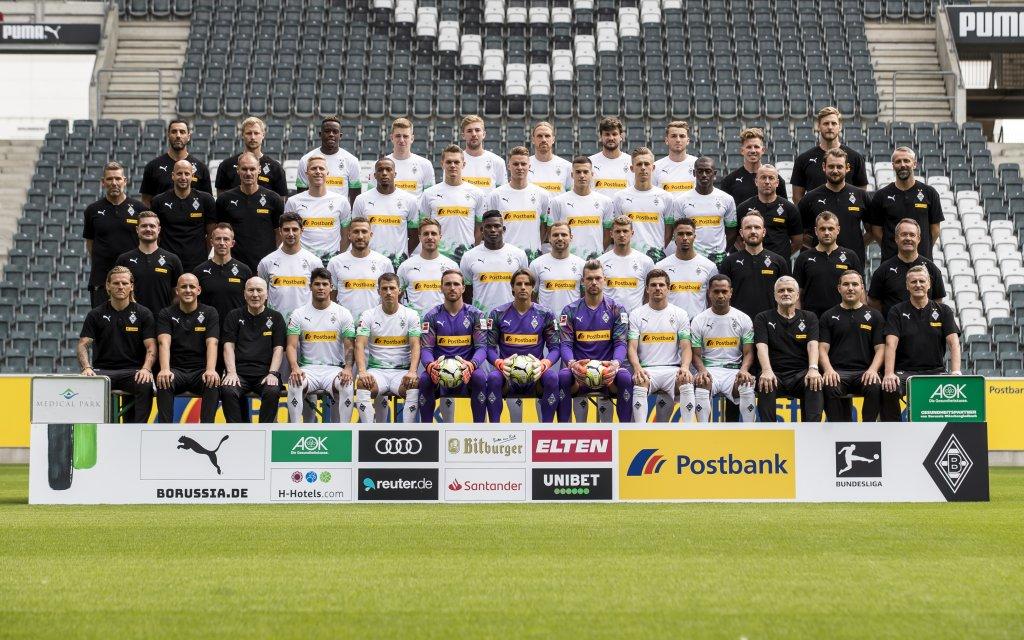 Borussia Mönchengladbach Mannschaftsfoto