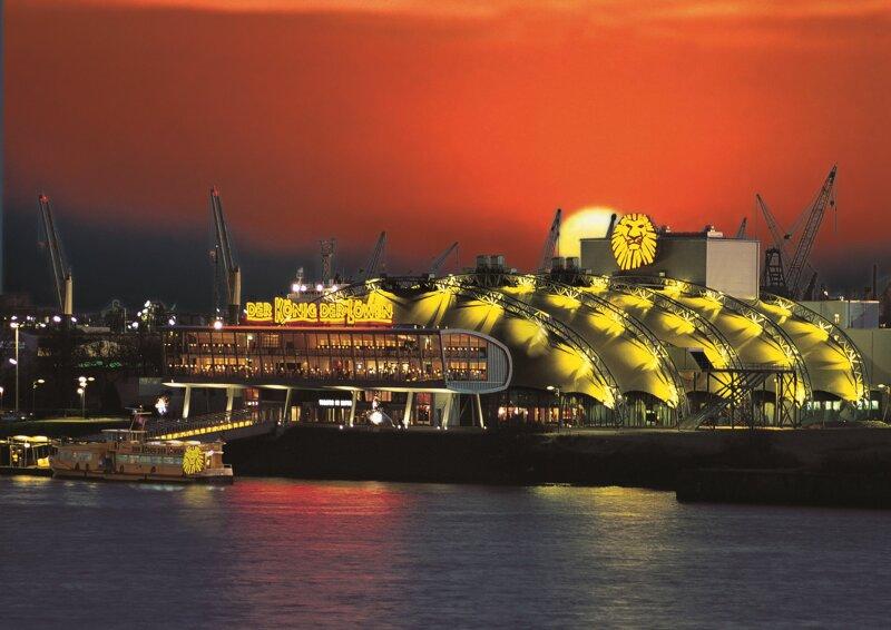 Theater im Hafen in Hamburg - König der Löwen