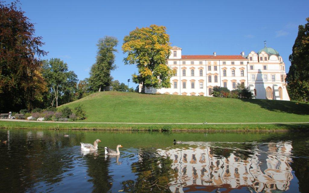 Schloss Celle von Wasser aus gesehen
