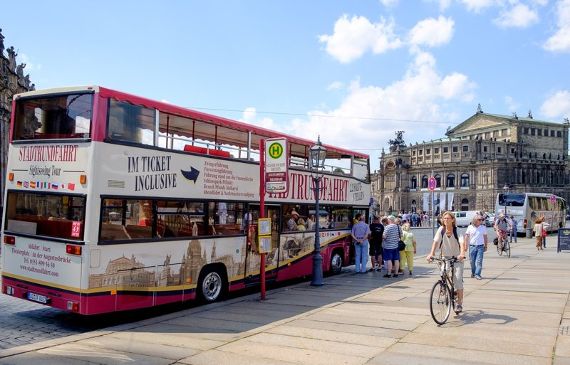 Hop-On-Hop-Off-Bus in Dresden