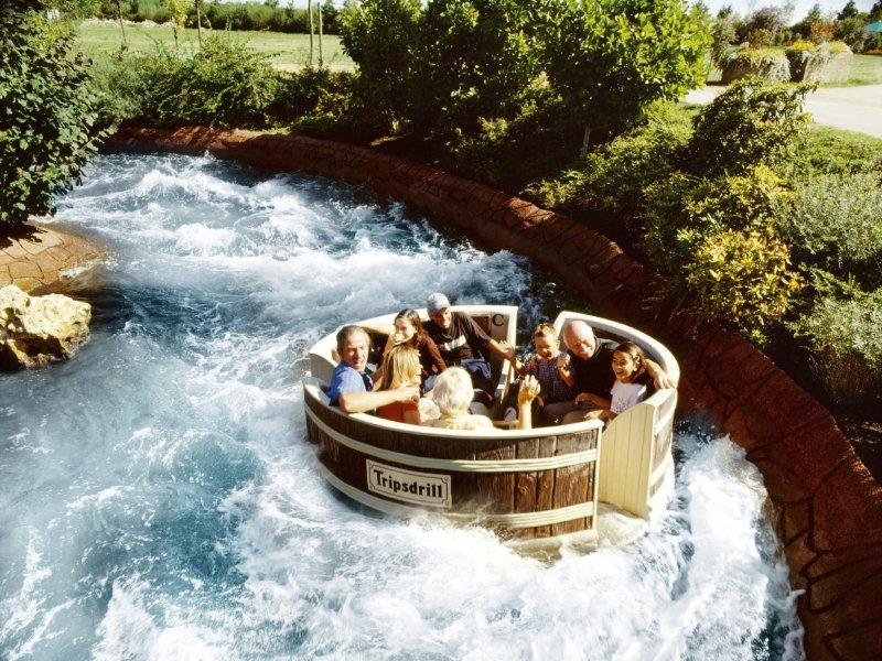 Waschzuber im Freizeitpark Tripsdrill
