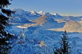 Neuschwanstein Winter